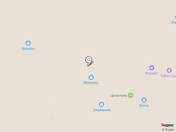 Модерн на карте Курска