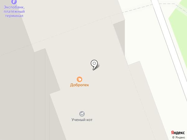 Кондитерская на карте Курска