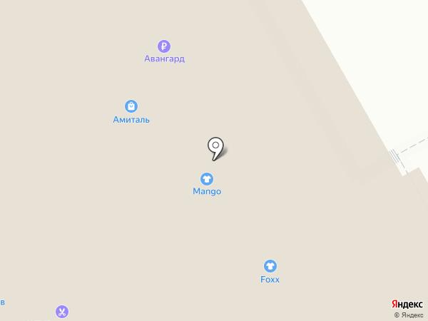 Кубик на карте Курска