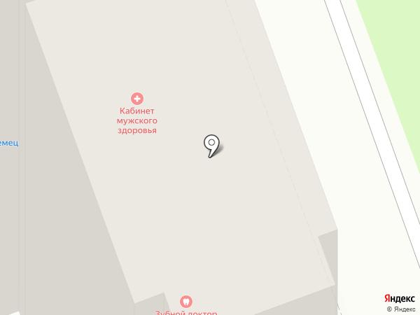 Кабинет мужского здоровья на карте Курска
