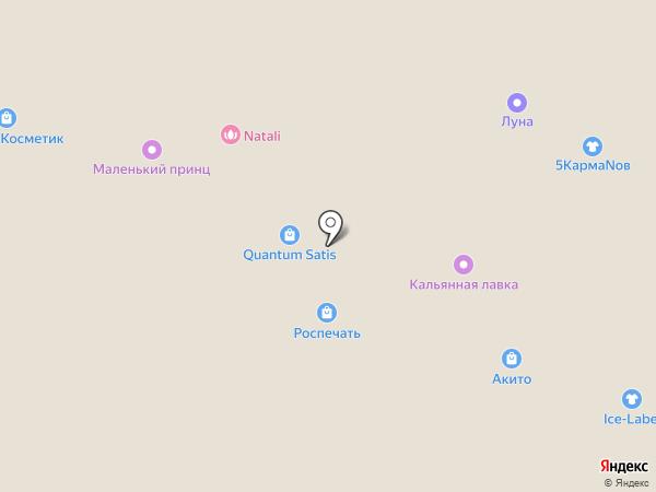 Quantum satis на карте Курска