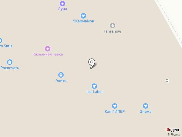 Ice-Label на карте Курска
