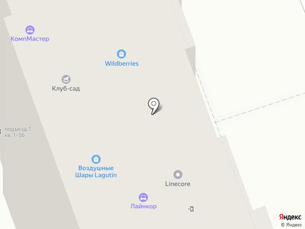 Марсель на карте Курска