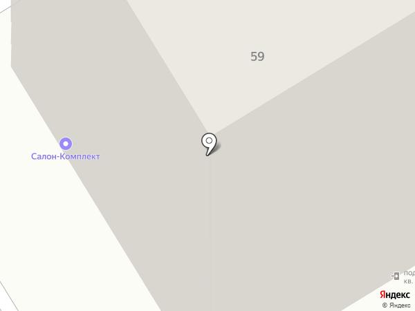 Ривьера на карте Курска