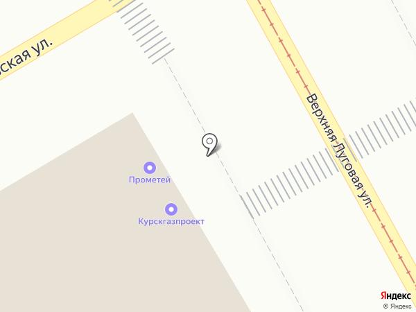 Курсктехногаз на карте Курска