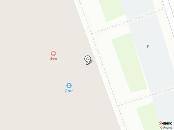 Гвоздик на карте Курска