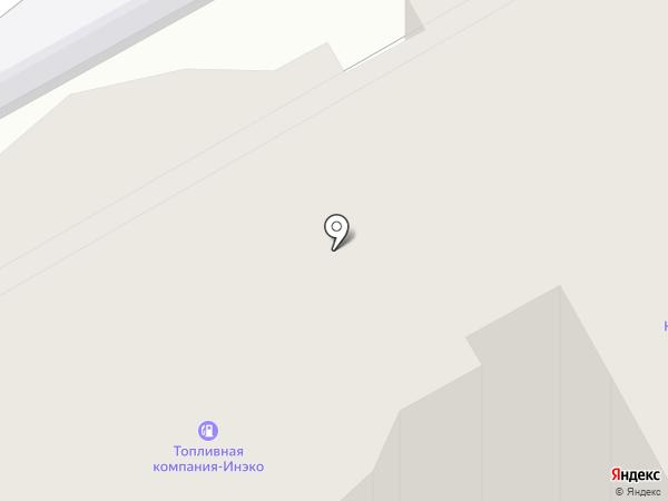 ИНЭКО на карте Курска