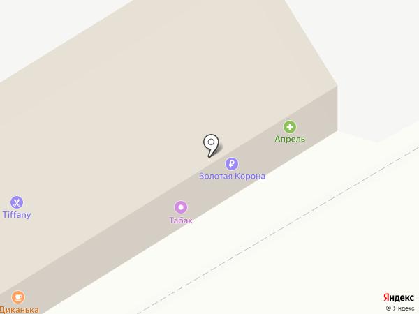 Кристалл Лефортово на карте Курска