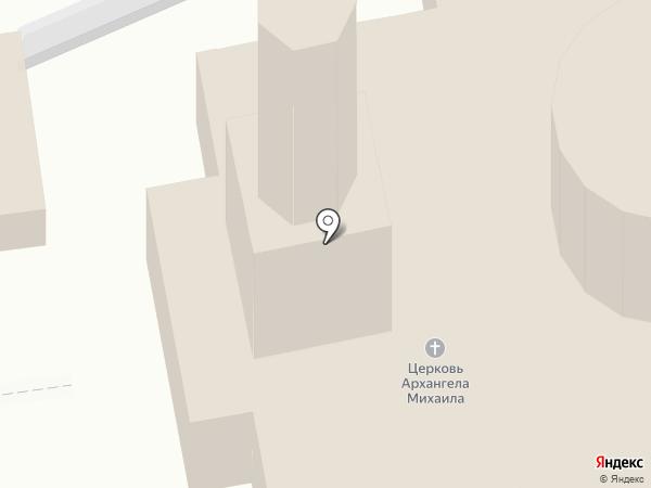 Михайловский храм на карте Курска