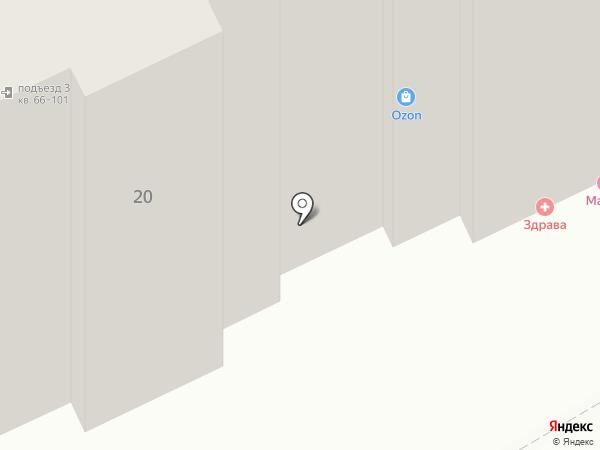 Тату-салон на карте Курска