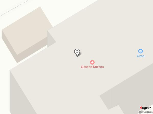 Почтовое отделение №1 на карте Курска