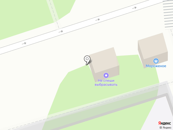 Киоск по ремонту обуви на карте Курска