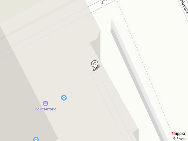 Курские стальные двери на карте Курска