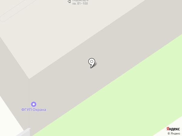 Охрана Росгвардии на карте Курска