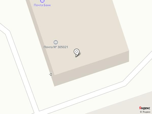 Почтовое отделение №21 на карте Курска