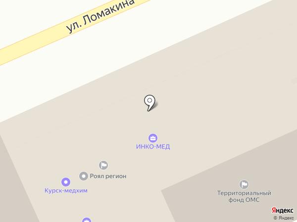 Курская Ремонтная Служба на карте Курска