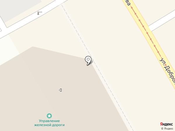 Управление ФСБ РФ по Курской области на карте Курска