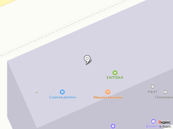 Курская таможня на карте Курска