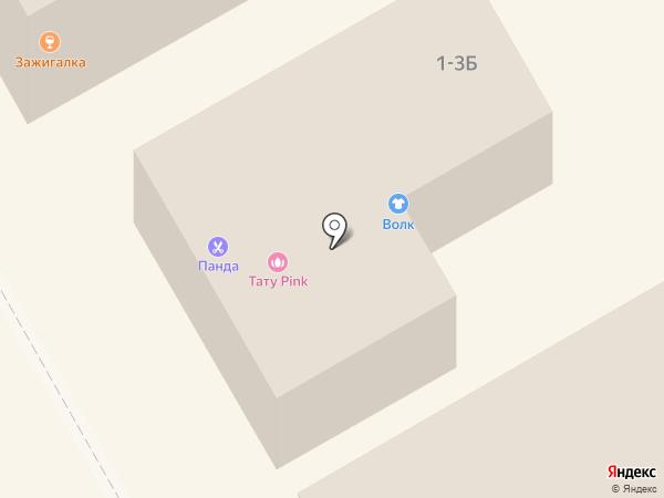 Магазин спецодежды и тканей на карте Курска