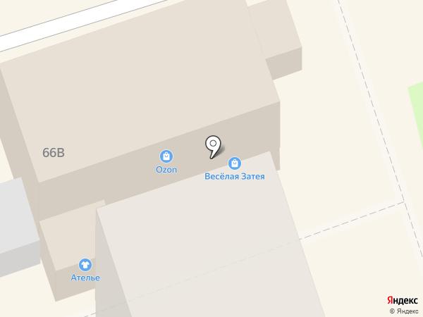 Ателье по ремонту и пошиву одежды на карте Курска