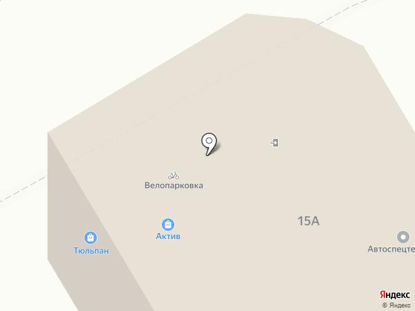 Актив на карте Курска
