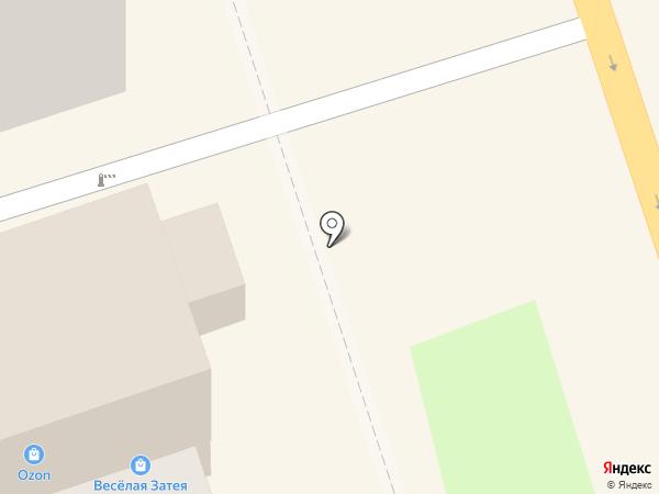 Веселая затея на карте Курска