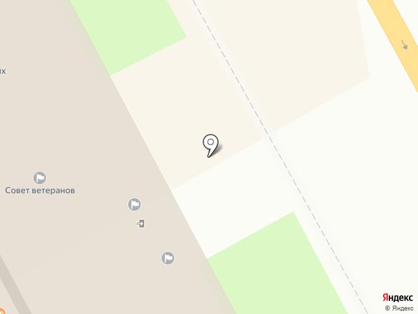 Комитет социальной защиты населения г. Курска на карте Курска