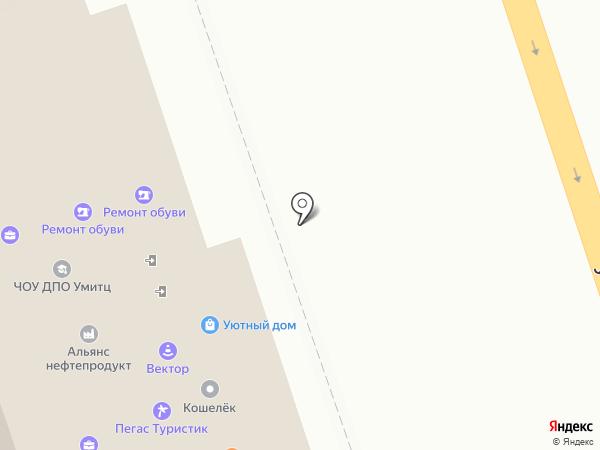Бизнес-оценка на карте Курска