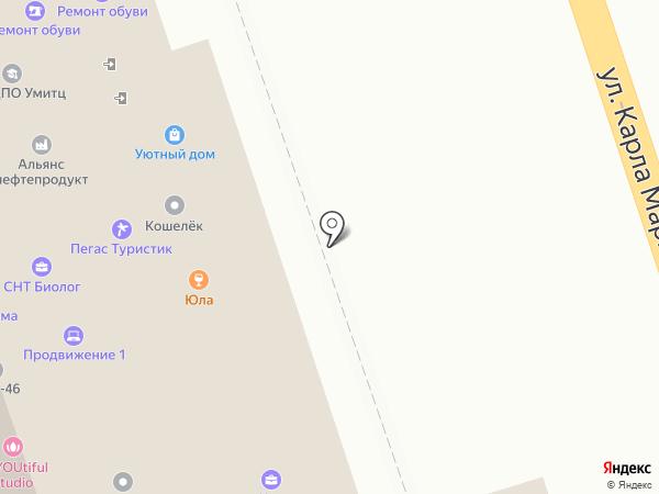 Юла на карте Курска