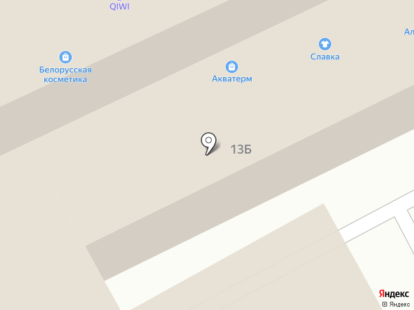 Акватерм на карте Курска