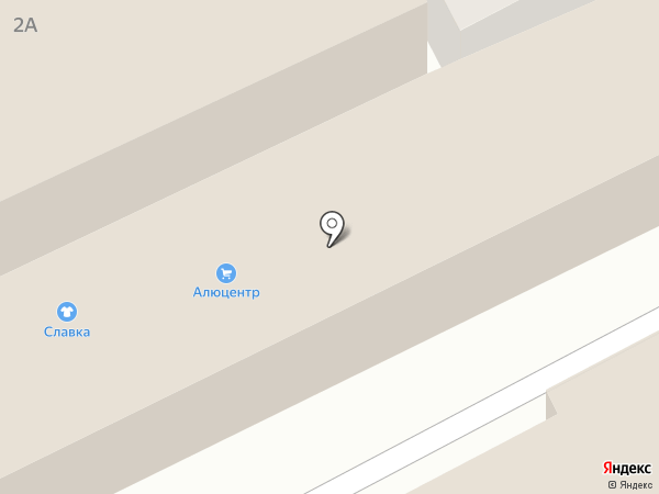 АЛЮЦЕНТР на карте Курска