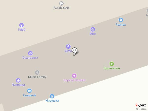 Билайн на карте Курска