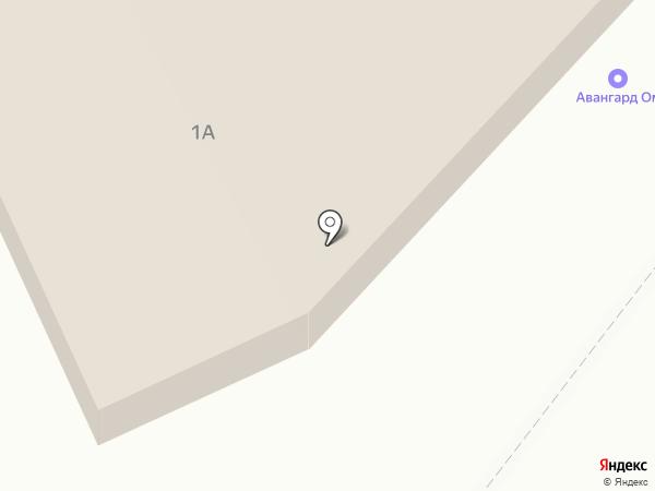 Прораб на карте Курска