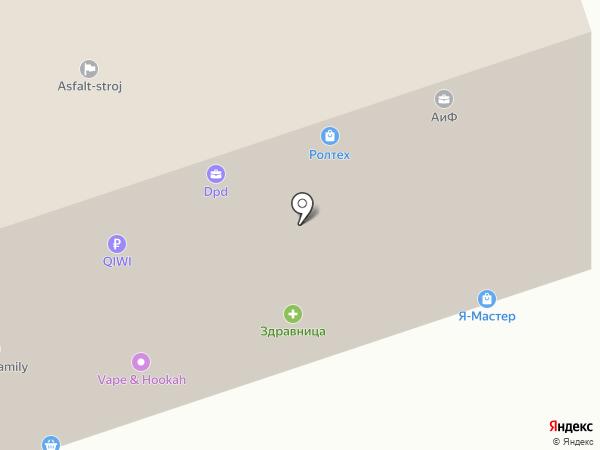 Магазин живого пива на карте Курска
