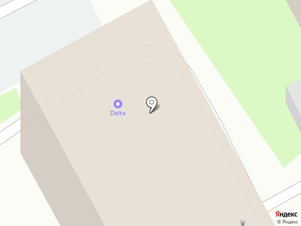 Автоспутник на карте Курска