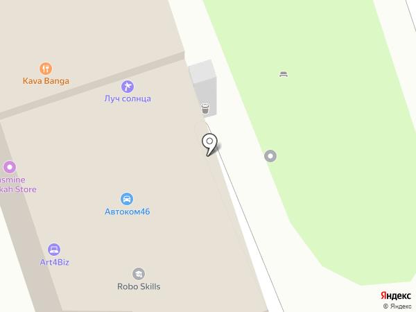 Принт Студия на карте Курска