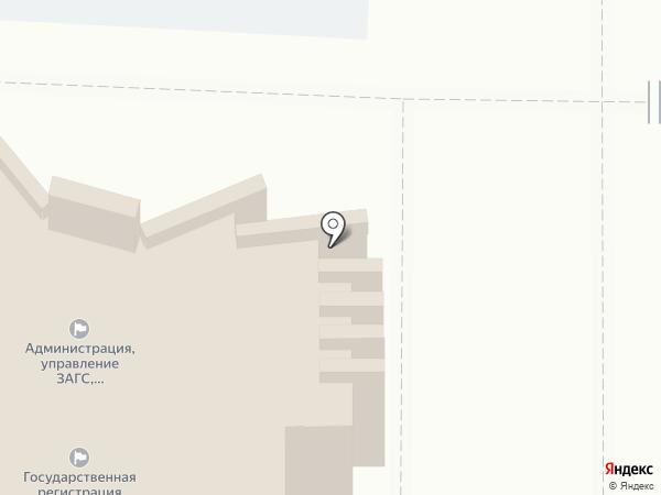 ЗАГС Центрального округа на карте Курска