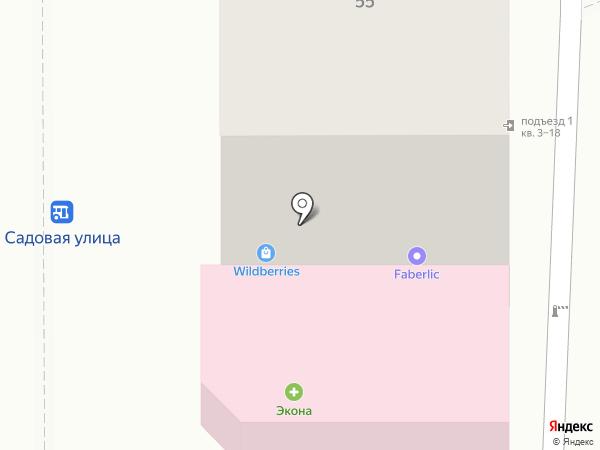 Юлия на карте Курска