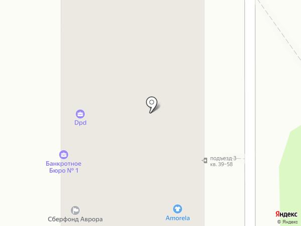 Светлячок на карте Курска