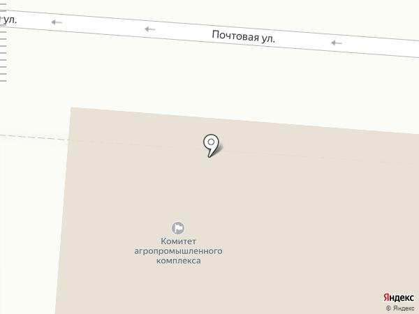 Коммунистическая партия РФ на карте Курска