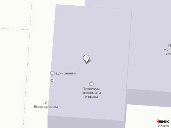 Курский институт менеджмента, экономики и бизнеса на карте Курска