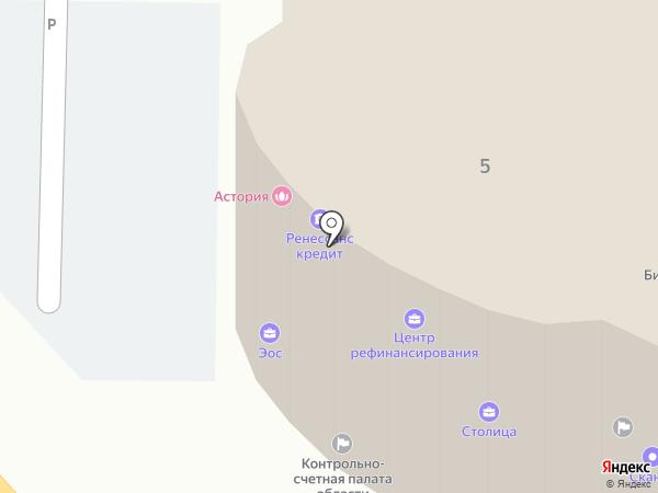 Магазин выпечки на карте Курска