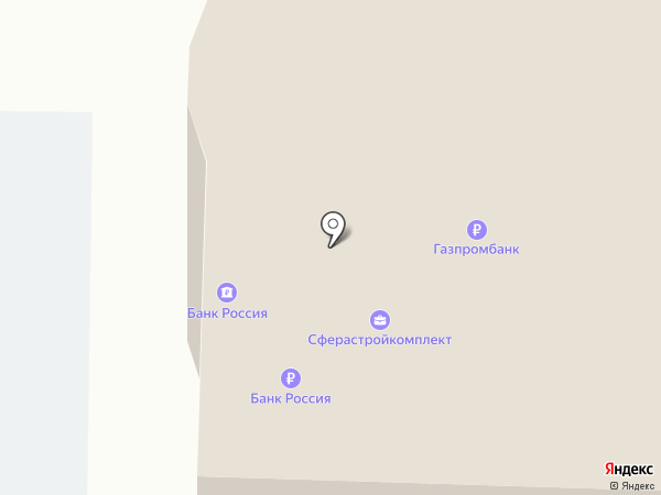Банкомат, АБ Россия на карте Курска