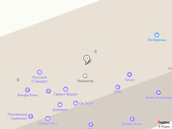 Браво на карте Курска