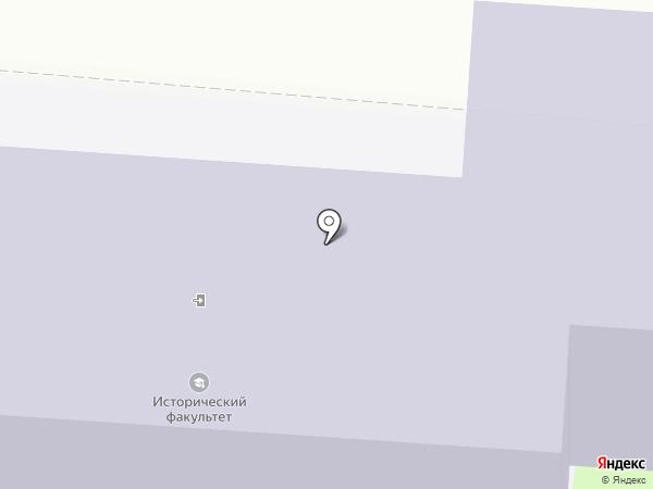 Курский государственный университет на карте Курска