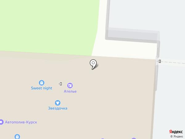 Ксения на карте Курска