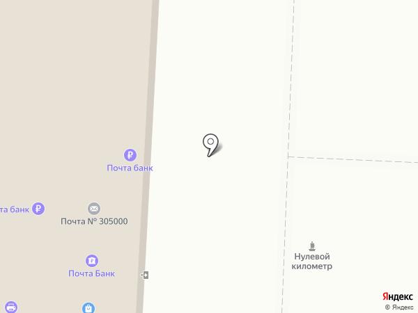 Курский почтамт на карте Курска