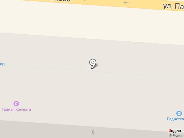Таблеточка на карте Курска