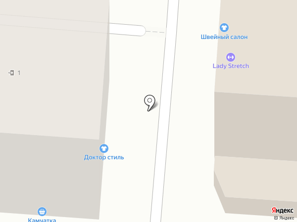 Доктор Стиль на карте Курска
