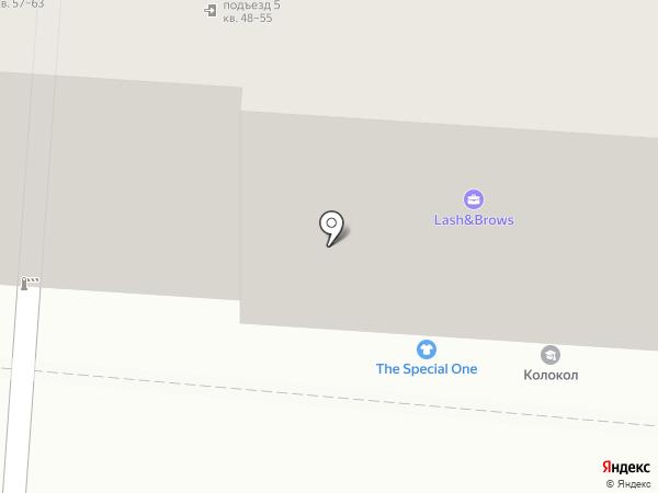 Аленка на карте Курска